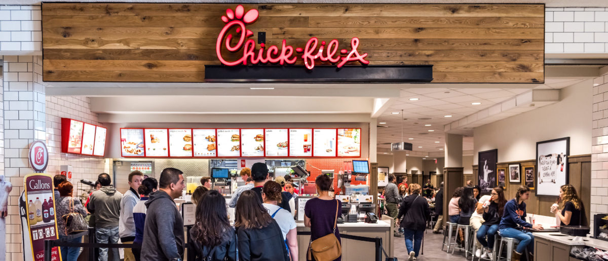 Chick-Fil-A in Fairfax, USA (Credit: Shutterstock)