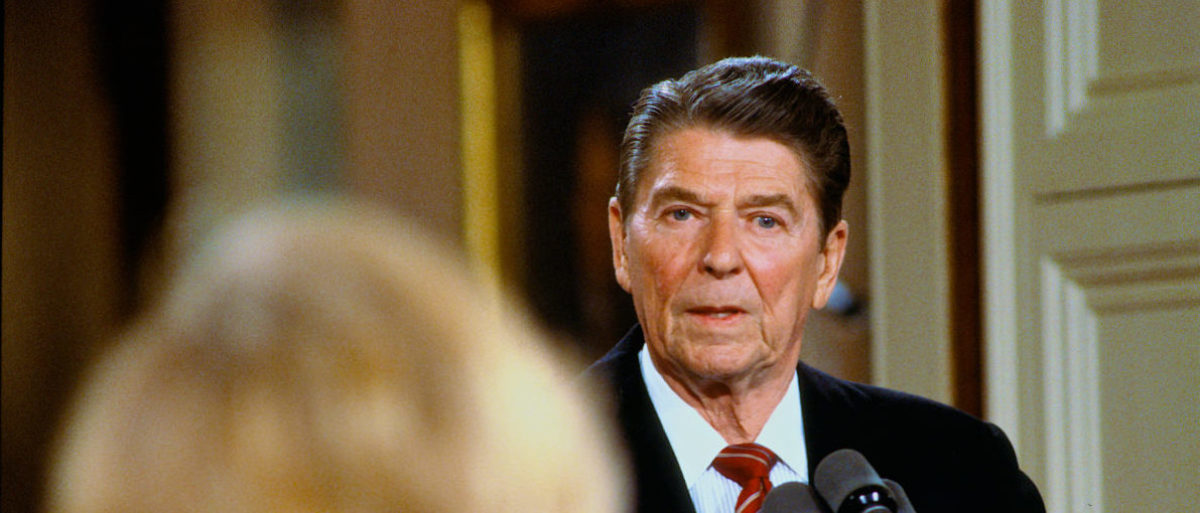 FACT CHECK: Did Reagan Say He Felt Like He Was 'Shaking Hands With A President' When He Met Trump?