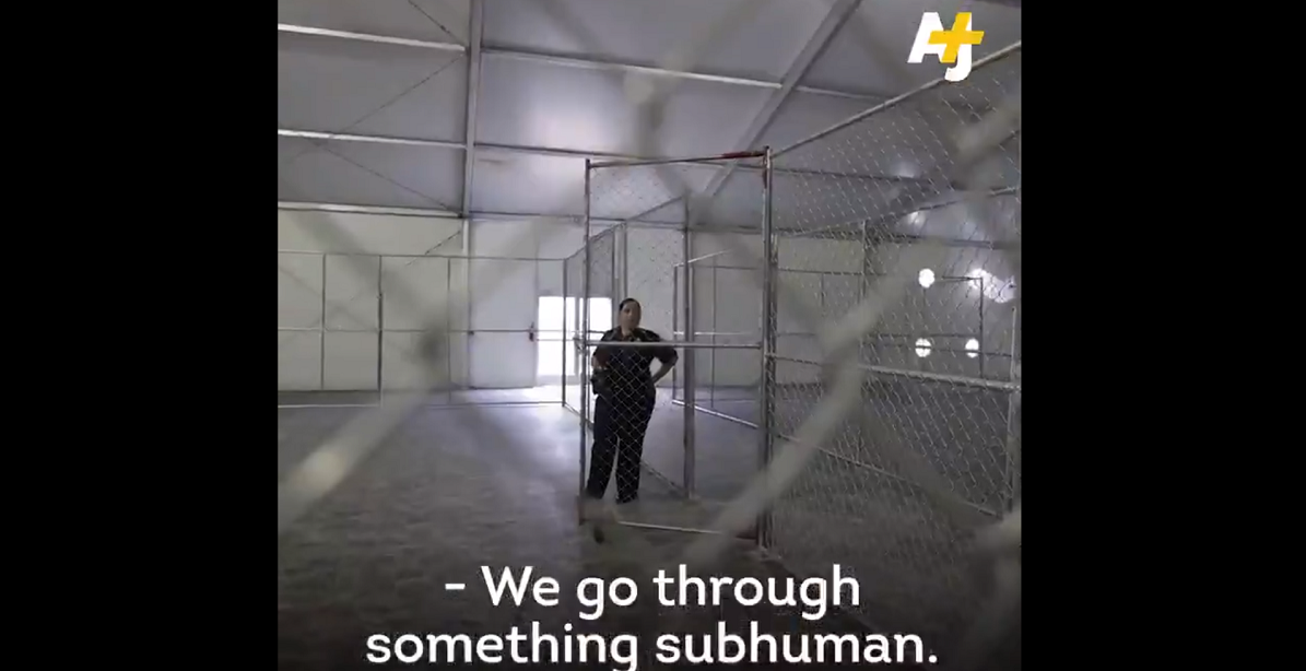 AJ+, owned by human rights violator Qatar, says US treats people 'subhuman' / Screenshot