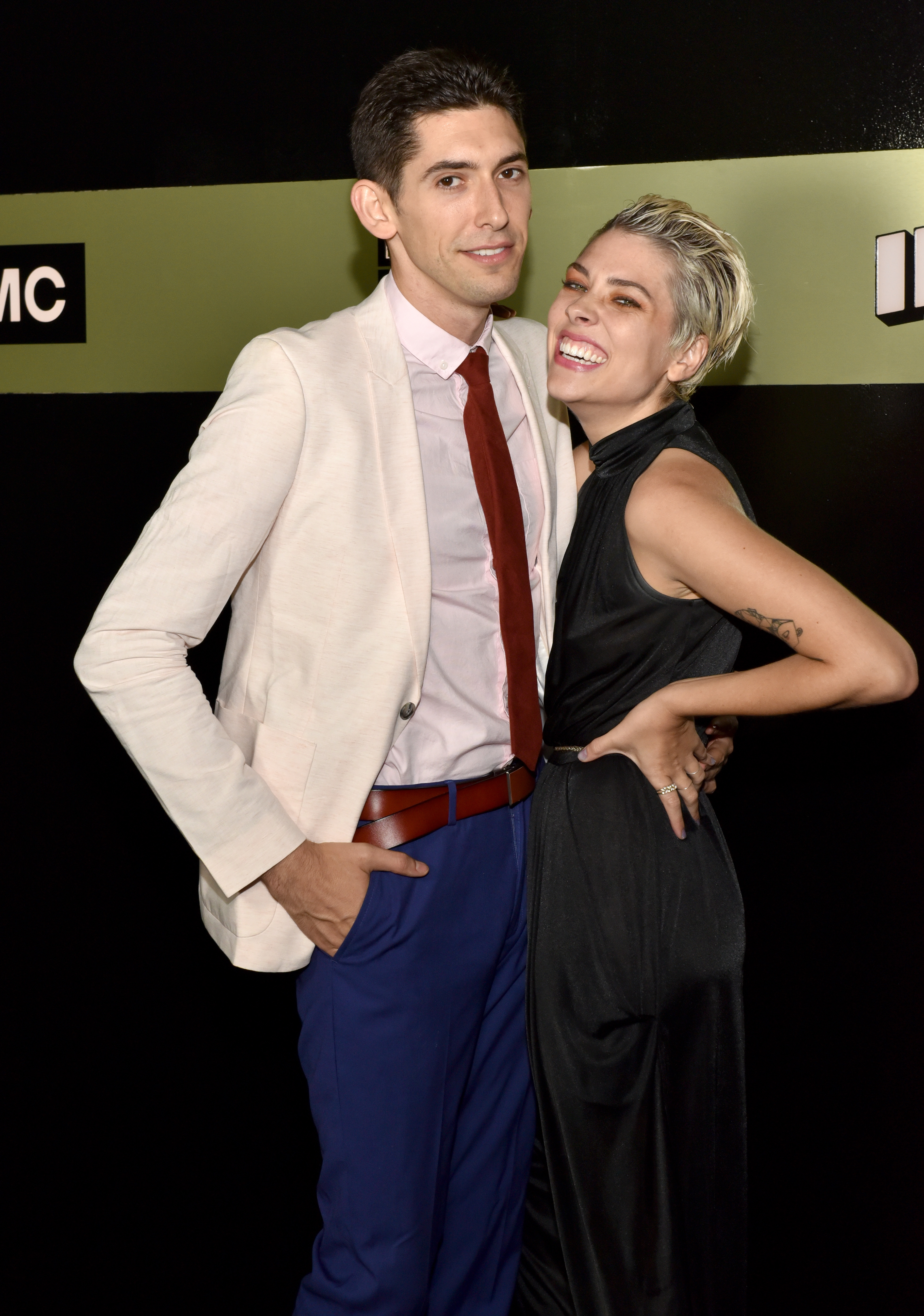 Screenwriter Max Landis (L) and Ani Baker attend AMC Networks 69th Primetime Emmy Awards after-party celebration at BOA Steakhouse on September 17, 2017 in West Hollywood, California. (Photo by Rodin Eckenroth/Getty Images)