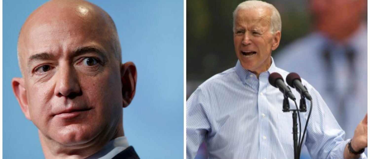 Biden speaks during a campaign stop in Philadelphia, and addresses a crowd in Washington, DC (REUTERS)