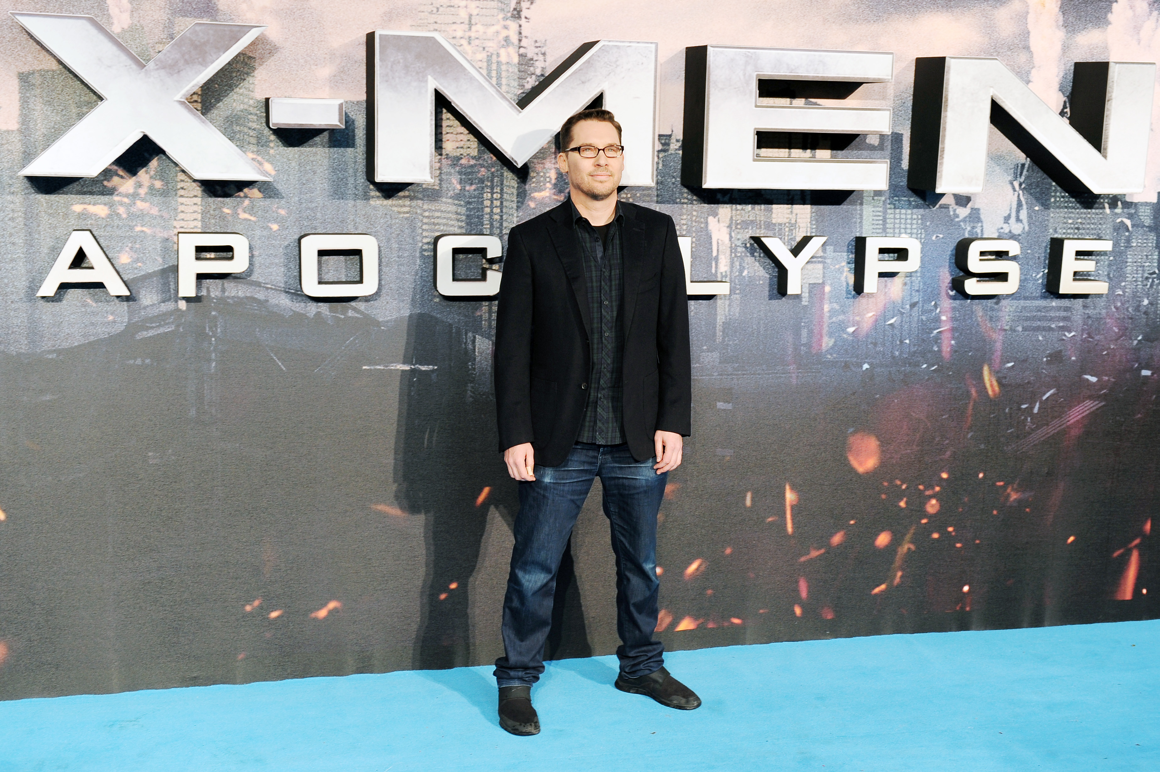 "Bryan Singer attends a Global Fan Screening of ""X-Men Apocalypse"" at BFI IMAX on May 9, 2016 in London, England. (Photo by Jeff Spicer/Getty Images)"