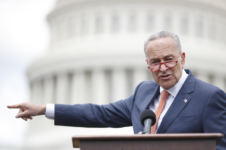 Democratic Lawmakers Hold Press Conference On Gun Violence, Urging Senate To Vote On Universal Background Checks Legislation