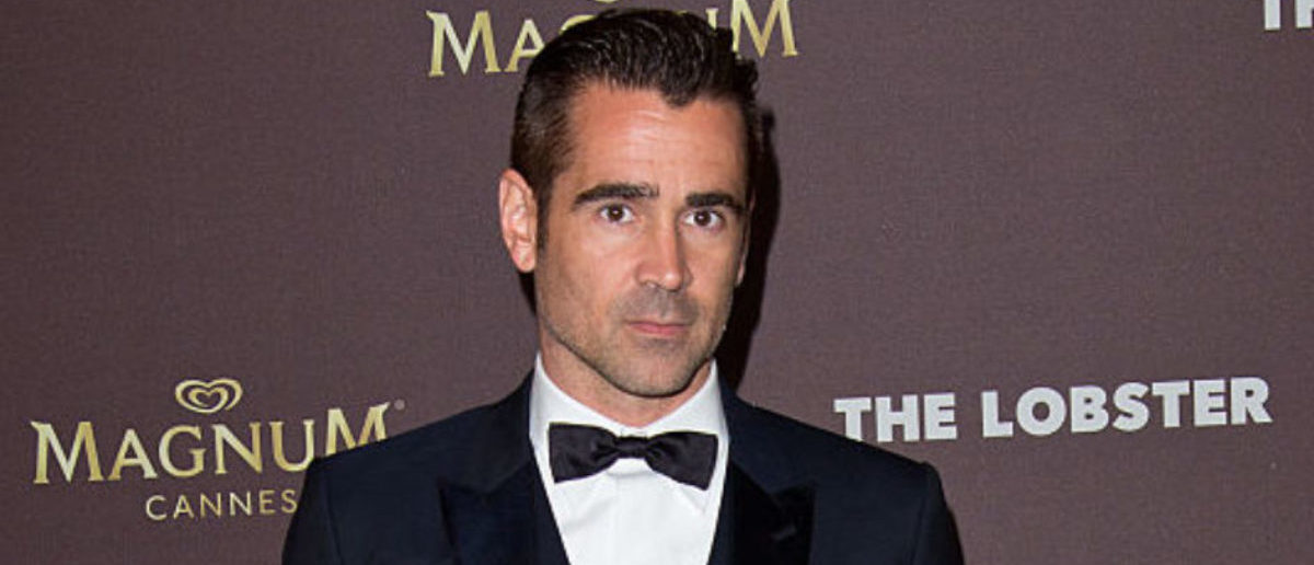 """CANNES, FRANCE - MAY 15: Colin Farrell attends the after party for """"The Lobster"""" during the 68th annual Cannes Film Festival on May 15, 2015 in Cannes, France. (Photo by Ben A. Pruchnie/Getty Images)"""