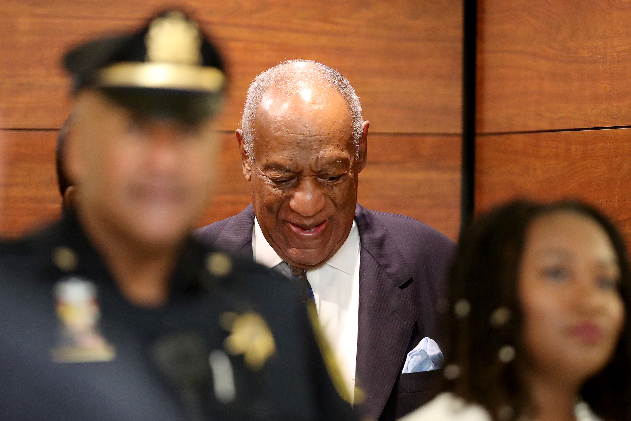 Actor and Comedian Bill Cosby arrives at the Montgomery County Courthouse for sentencing in his sexual assault trial in Norristown, Pennsylvania on September 24, 2018. - (Photo credit MAIALETTI/AFP/Getty Images)