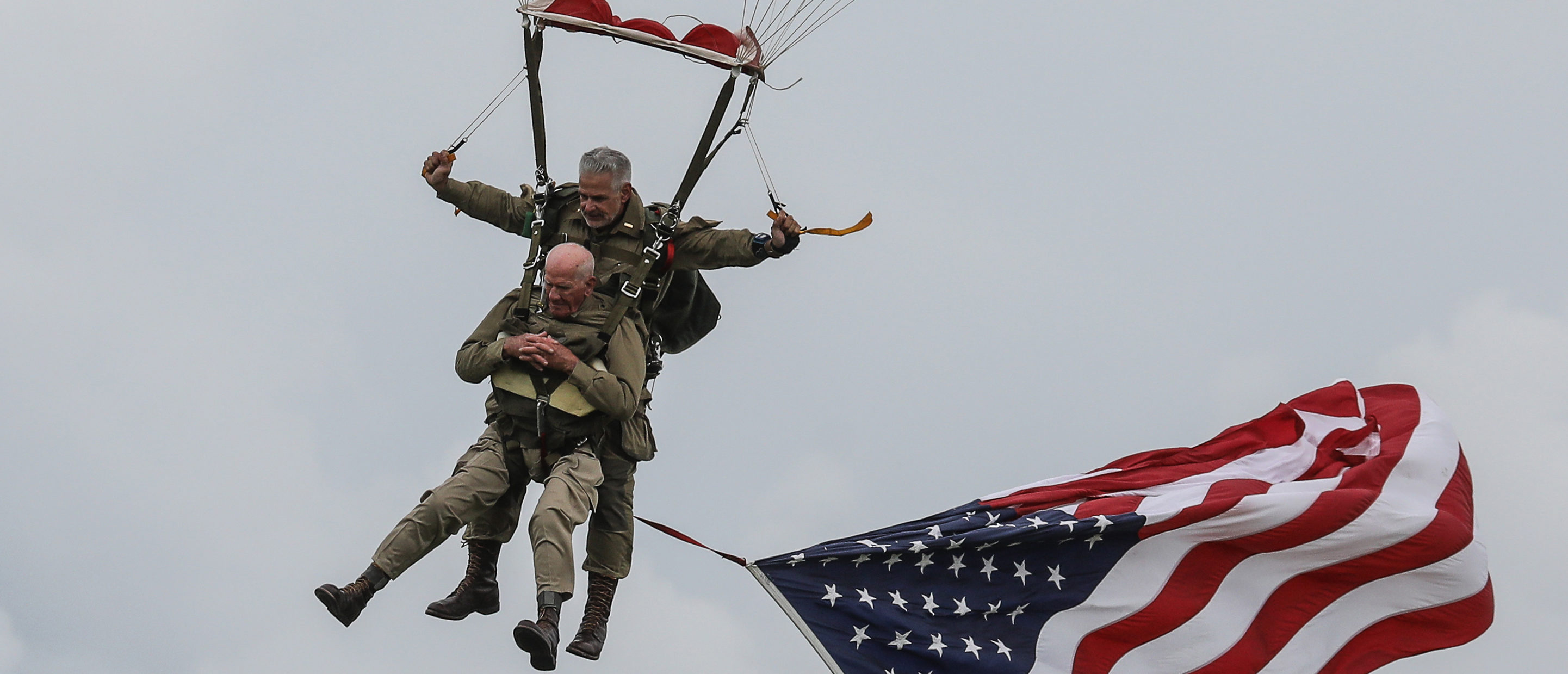 Veterans Parachute Into Normandy 75 Years After Storming the Beaches on D-Day