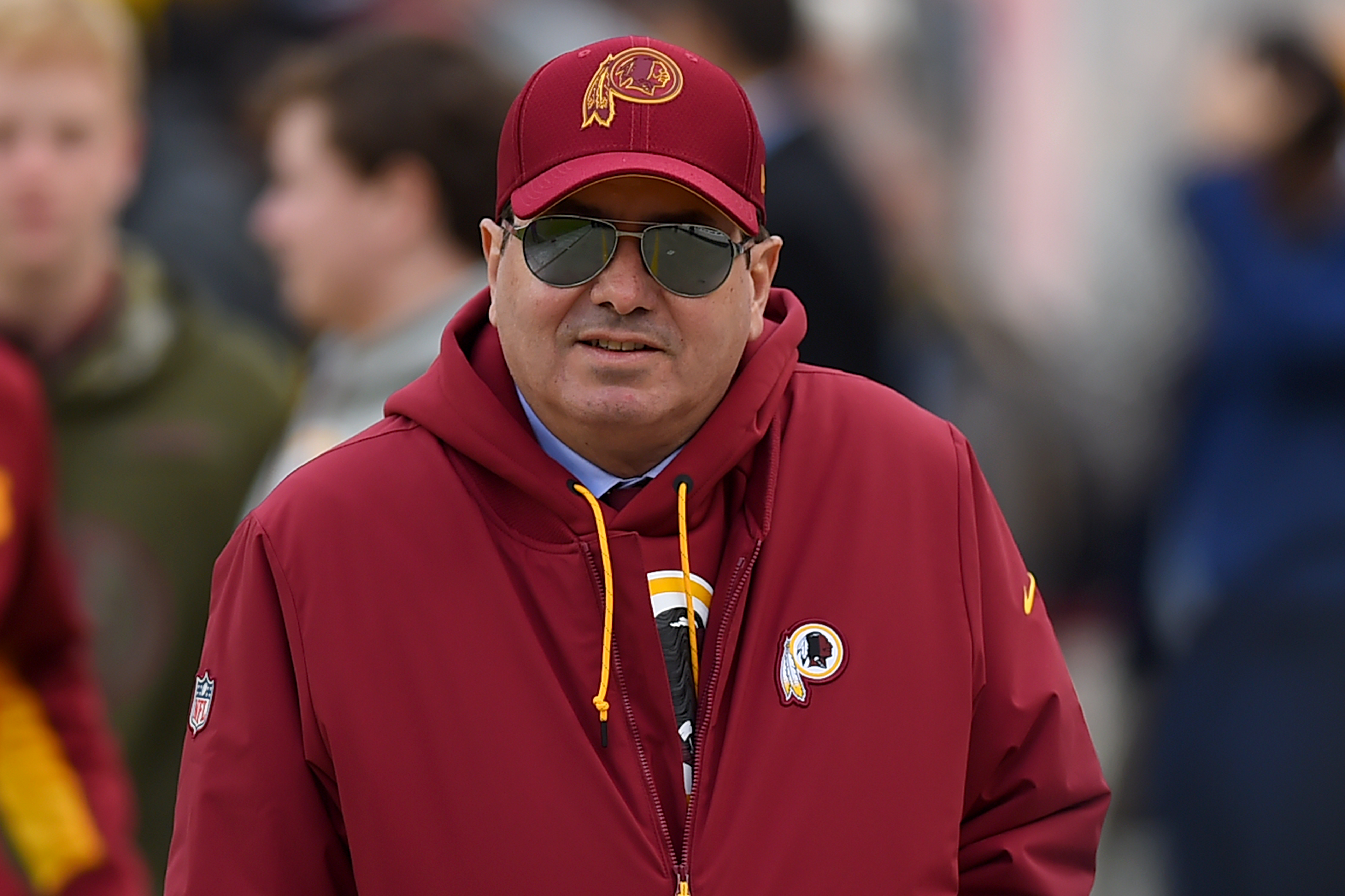 Washington Redskins owner Daniel Snyder before a game between the Redskins and Philadelphia Eagles at FedExField on December 30, 2018. (Will Newton/Getty Images)