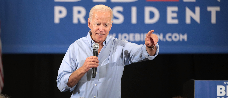 Biden Campaigning In Iowa (Photo by Scott Olson/Getty Images)