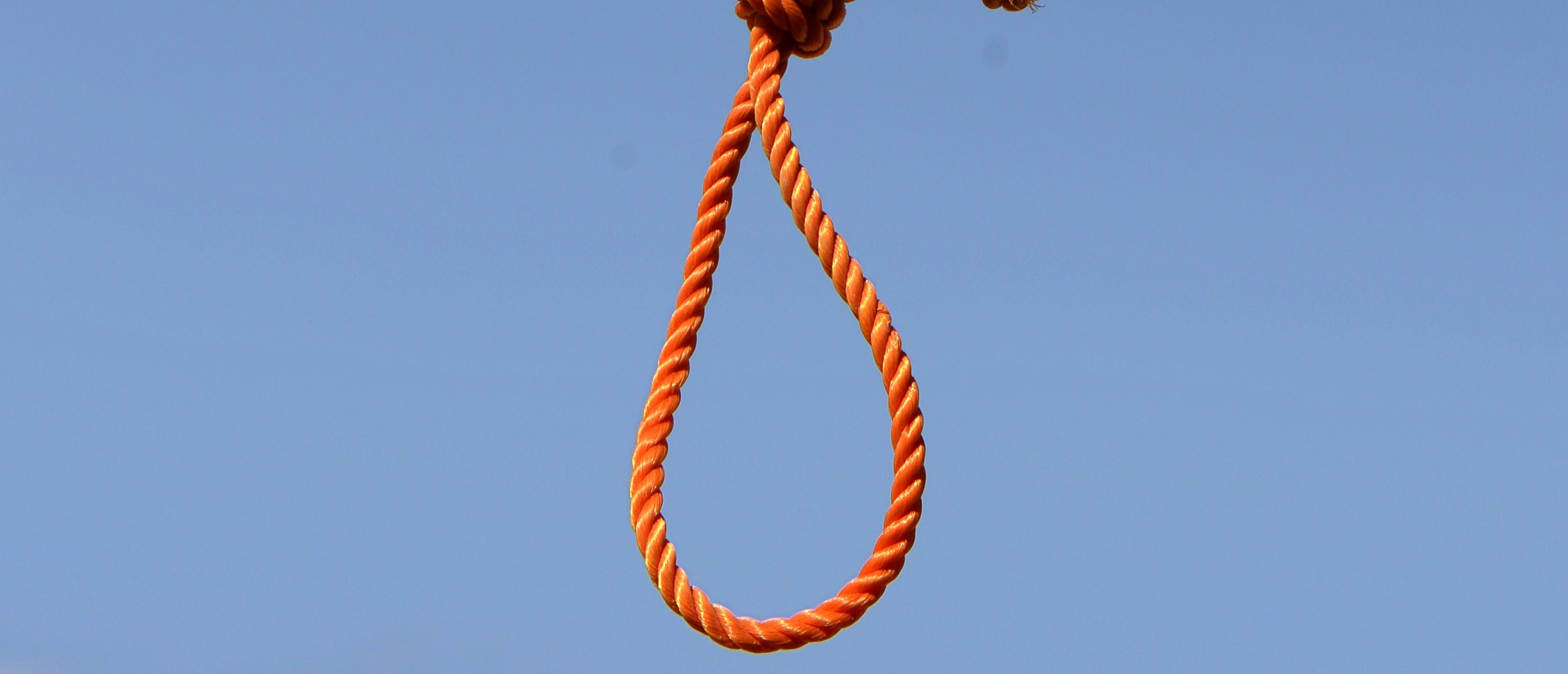 A noose hangs at Pul-e-Charkhi prison, on the outskirts of Kabul/ WAKIL KOHSAR/AFP/Getty Images