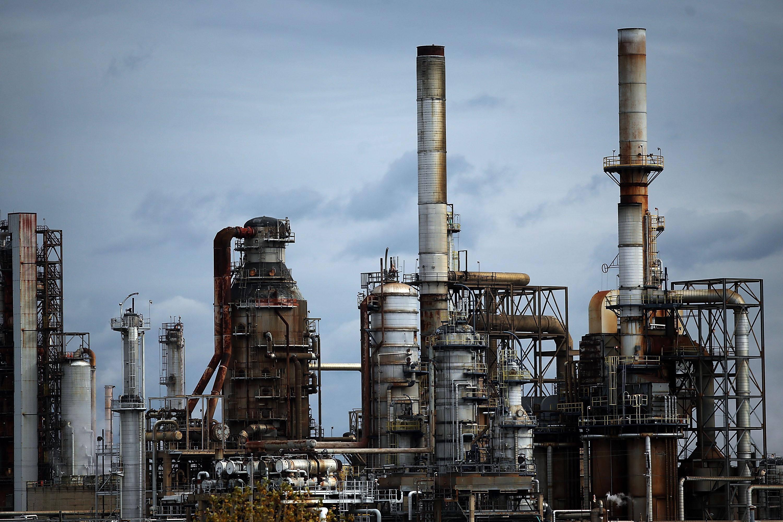 Philadelphia Energy Solutions is seen October 24, 2014 in Philadelphia, Pennsylvania. (Photo by Spencer Platt/Getty Images)