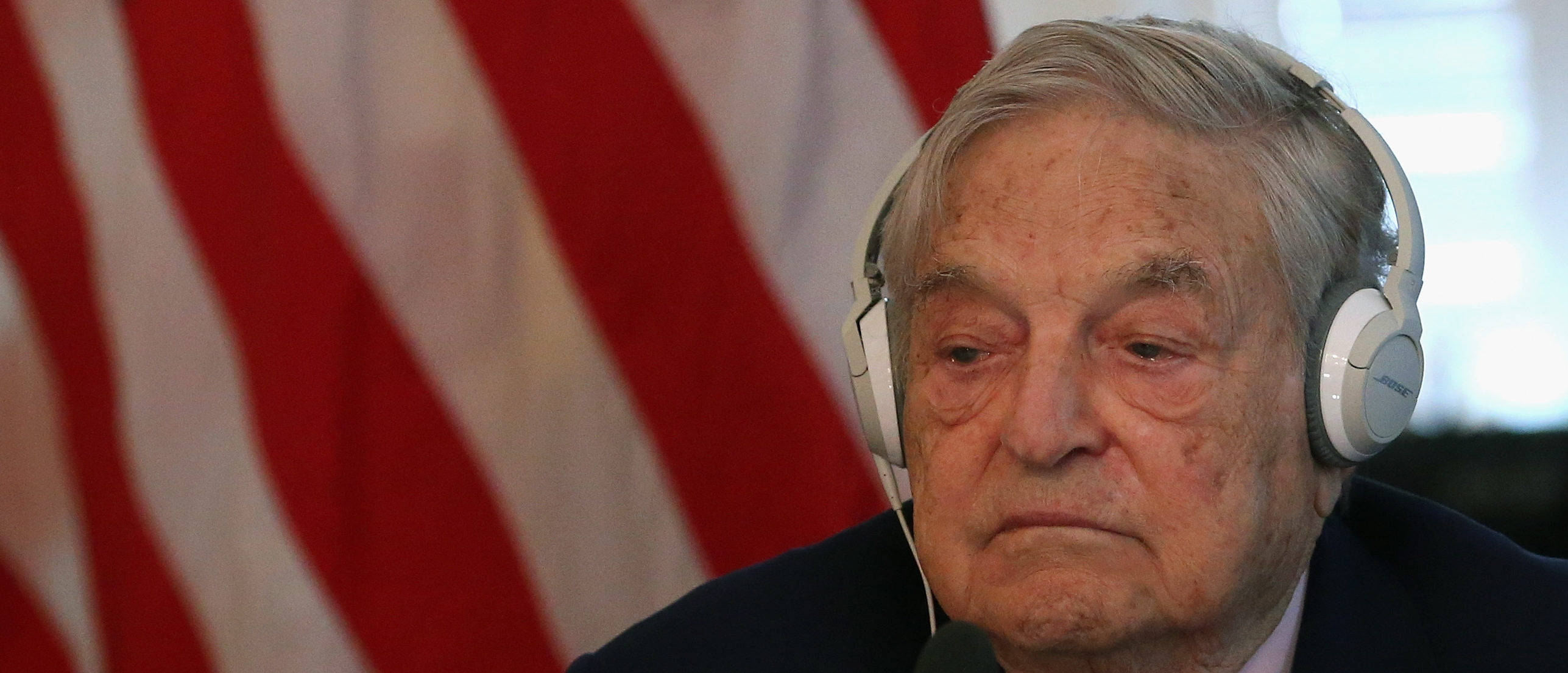 Billionaire George Soros is one of 18 people who have signed a letter in support of a wealth tax. (Mark Wilson/Getty Images)