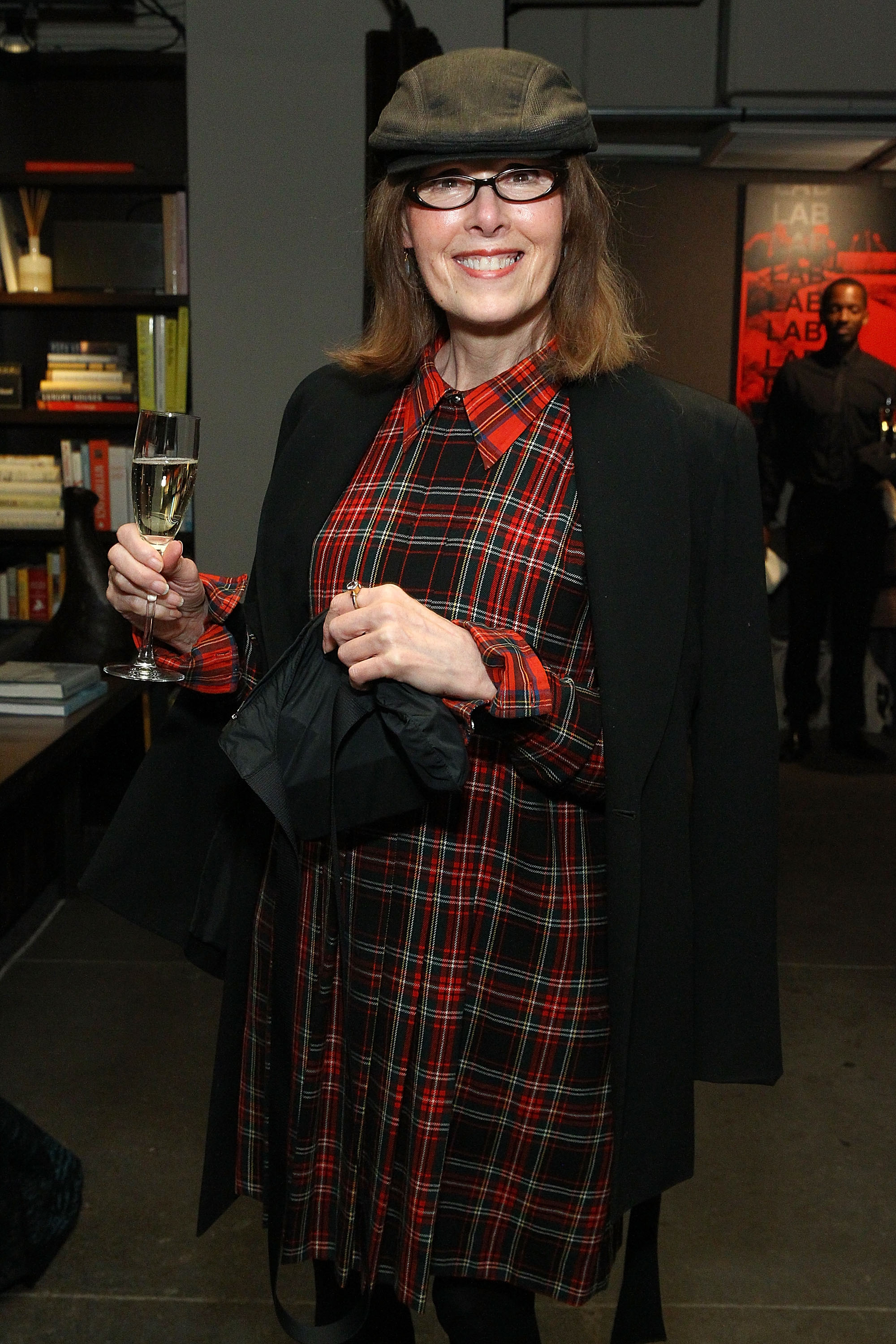 Journalist E. Jean Carroll attends The ELLE Agenda In Conversation Panel And Cocktail Party hosted by Robbie Myers At NeueHouse on November 17, 2015 in New York City. (Photo by Astrid Stawiarz/Getty Images for ELLE)