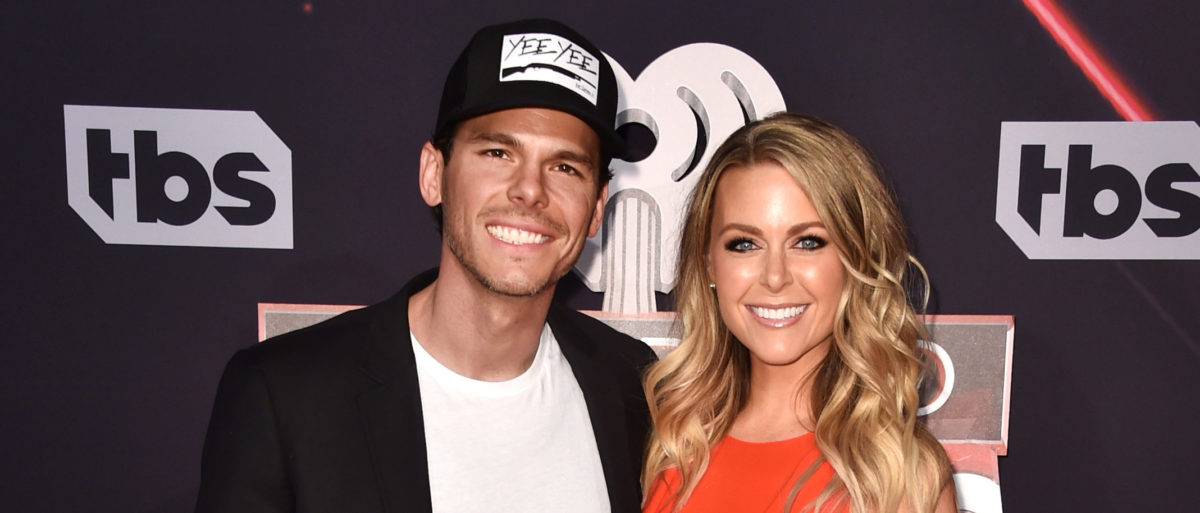 Musician Granger Smith (L) and Amber Bartlett attend the 2017 iHeartRadio Music Awards which broadcast live on Turner's TBS, TNT, and truTV at The Forum on March 5, 2017 in Inglewood, California. (Photo by Alberto E. Rodriguez/Getty Images)