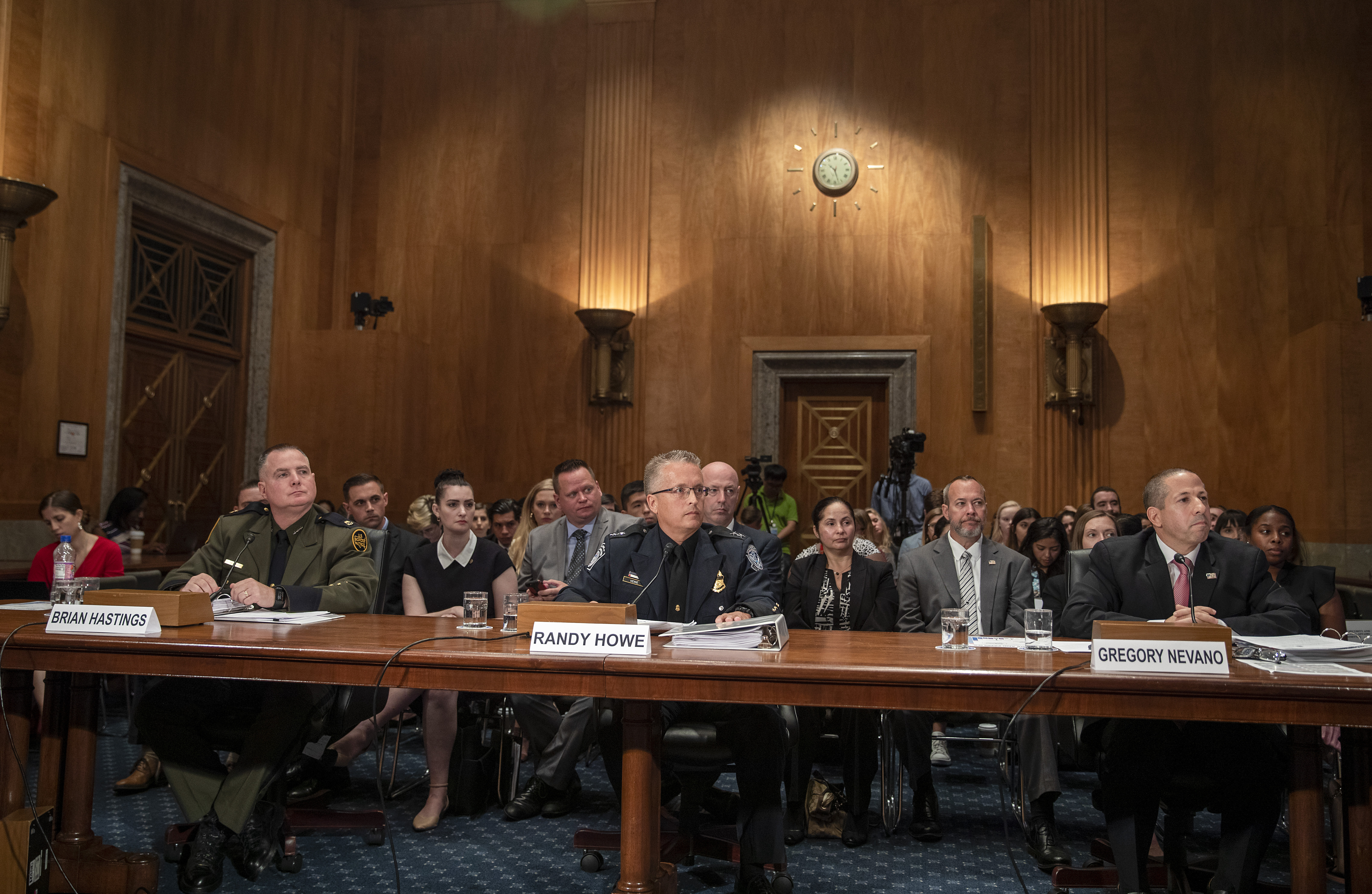 "Senate Holds Hearing On ""Unprecedented"" Migration At Southern U.S. Border"