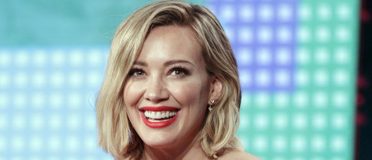 "Cast member Hilary Duff participates in Viacom TV Land ""Younger"" panel at the Television Critics Association (TCA) Winter Press Tour in Pasadena, California January 6, 2016. REUTERS/Alex Gallardo"