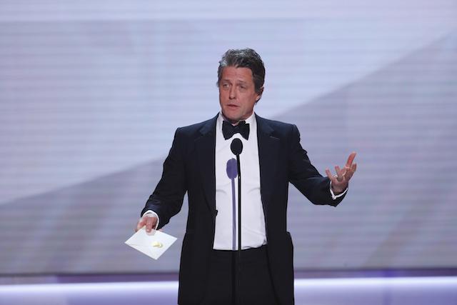 25th Screen Actors Guild Awards - Show - Los Angeles, California, U.S., January 27, 2019 - Actor Hugh Grant presents. REUTERS/Mike Blake