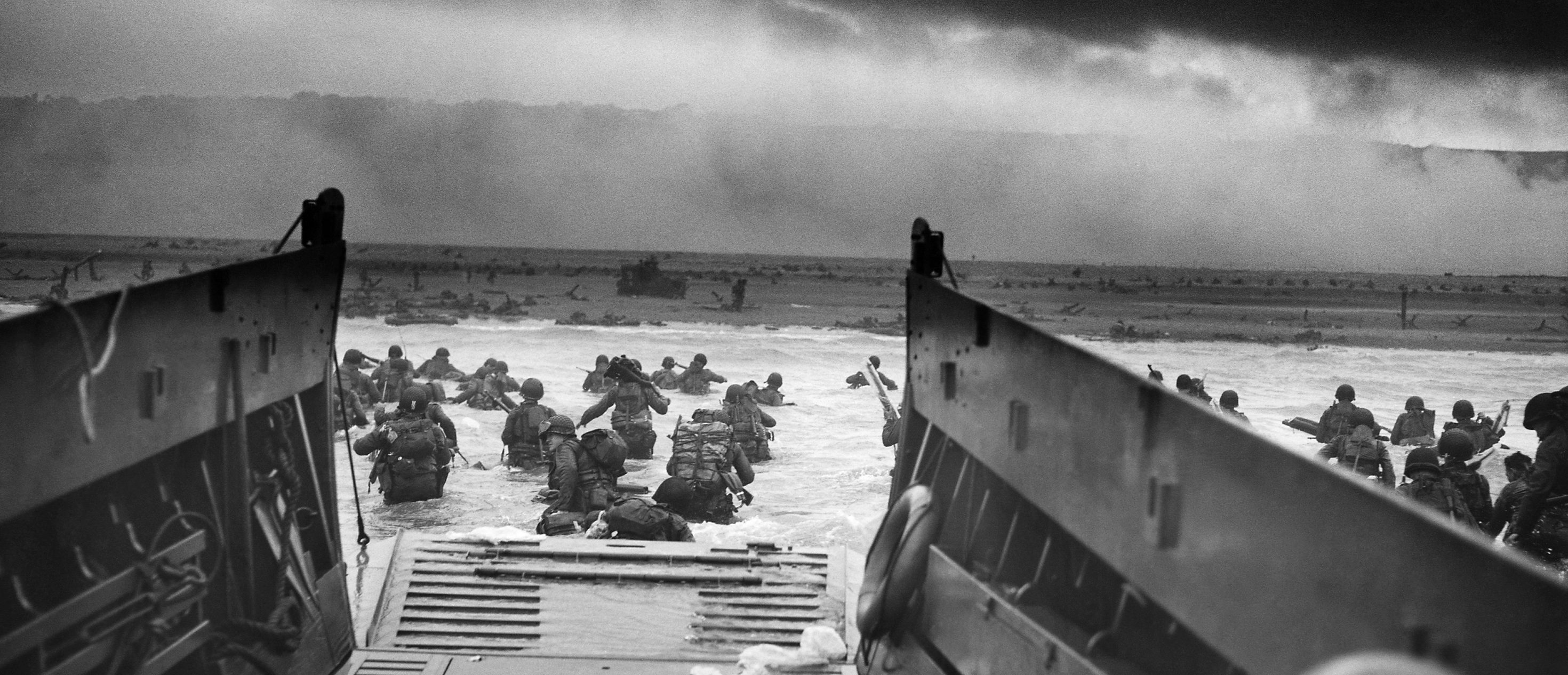 Allied Forces Landing at Normandy