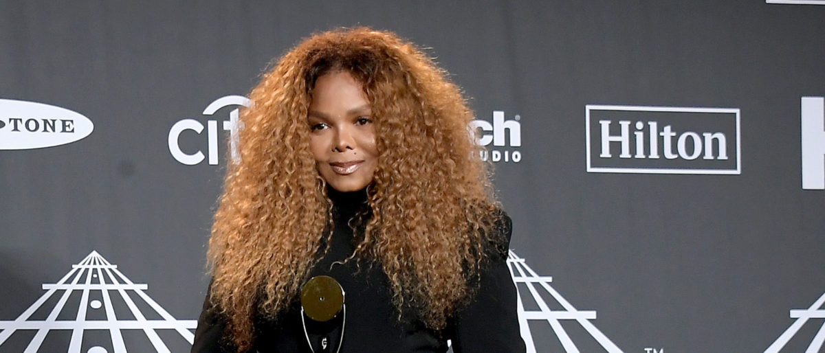 Inductee Janet Jackson poses in the press room at the 2019 Rock & Roll Hall Of Fame Induction Ceremony - Press Room at Barclays Center on March 29, 2019 in New York City. (Photo by Michael Loccisano/Getty Images For The Rock and Roll Hall of Fame)