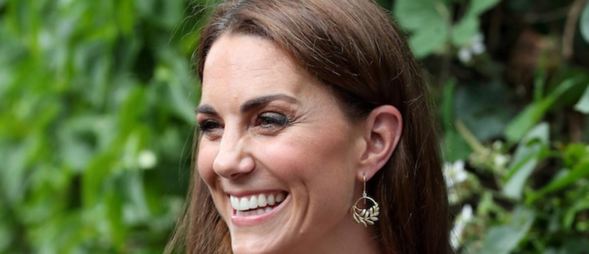 Britain's Catherine, Duchess of Cambridge joins a photography workshop with Action for Children in Kingston upon Thames, Britain, June 25, 2019. Chris Jackson/Pool via REUTERS