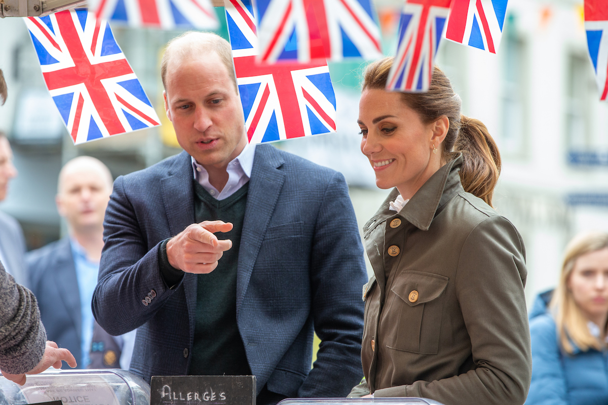 Kate Middleton and Prince William Went on a Secret Date in England
