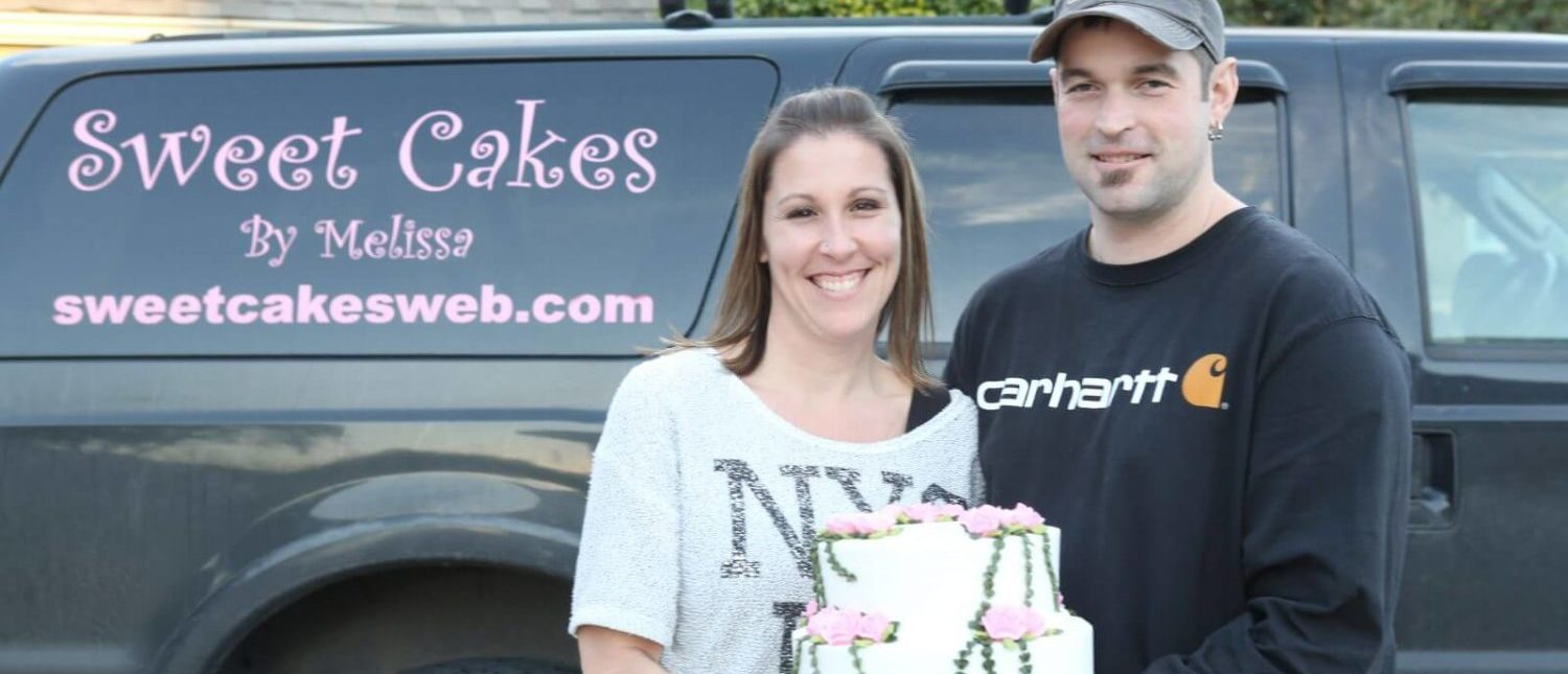 Aaron and Melissa Klein, the owners of 'Sweet Cakes by Melissa.' (First Liberty Institute)