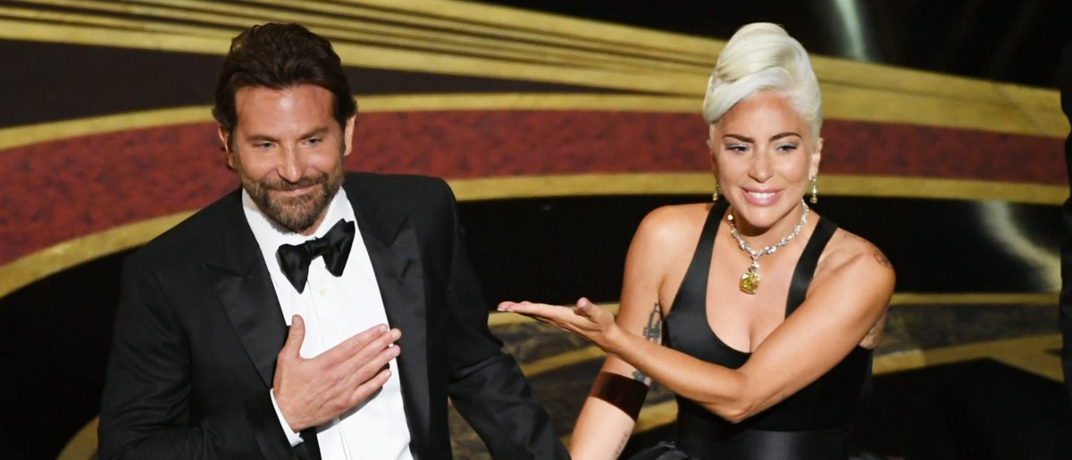 (L-R) Bradley Cooper and Lady Gaga perform onstage during the 91st Annual Academy Awards at Dolby Theatre on February 24, 2019 in Hollywood, California. (Photo by Kevin Winter/Getty Images)