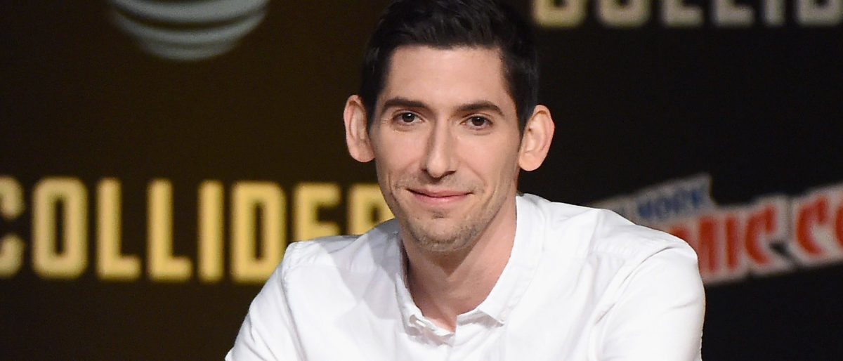 Max Landis speaks onstage during the Dirk Gently's Holistic Detective Agency - BBC AMERICA Official Panel during 2017 New York Comic Con on October 6, 2017 in New York City. (Photo by Nicholas Hunt/Getty Images)