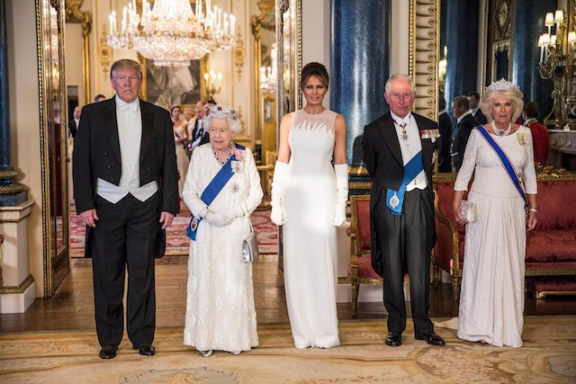 Melania Trump relies on her fashion favorites for United Kingdom visit