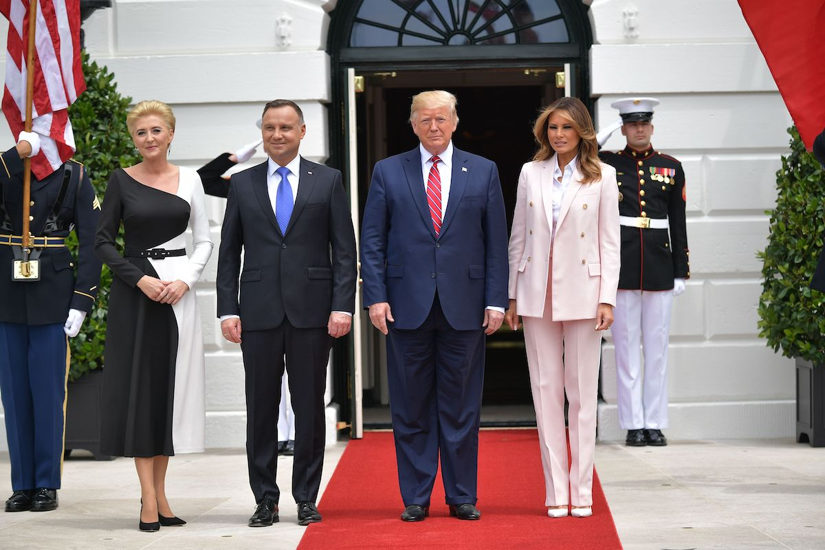 Trump to hold news conference with Polish president, watch live stream today