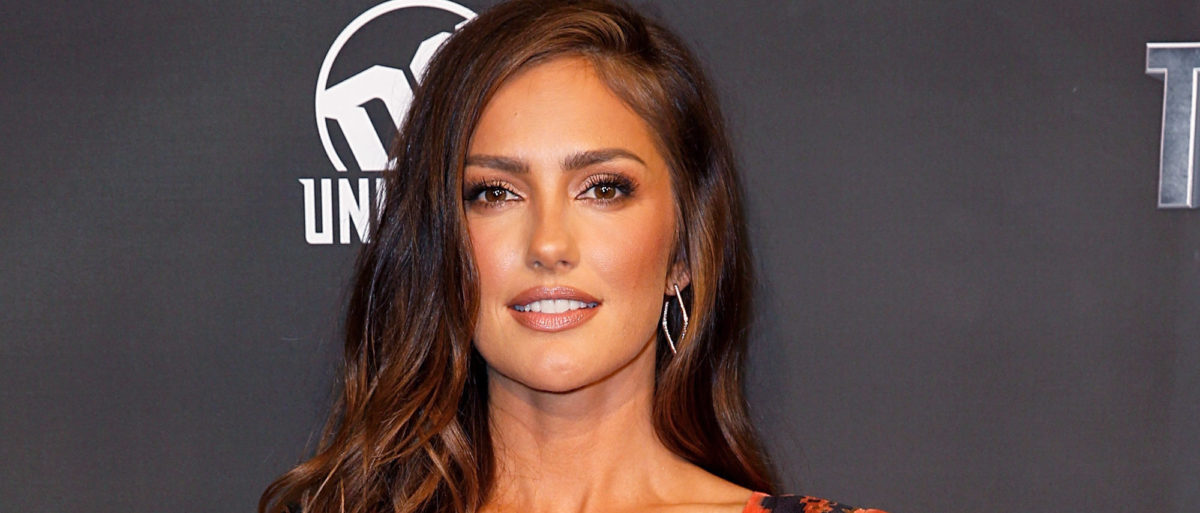 """Minka Kelly attends """"Titans"""" DC Series World Premiere at Hammerstein Ballroom on October 3, 2018 in New York City. (Photo by Dominik Bindl/Getty Images)"""