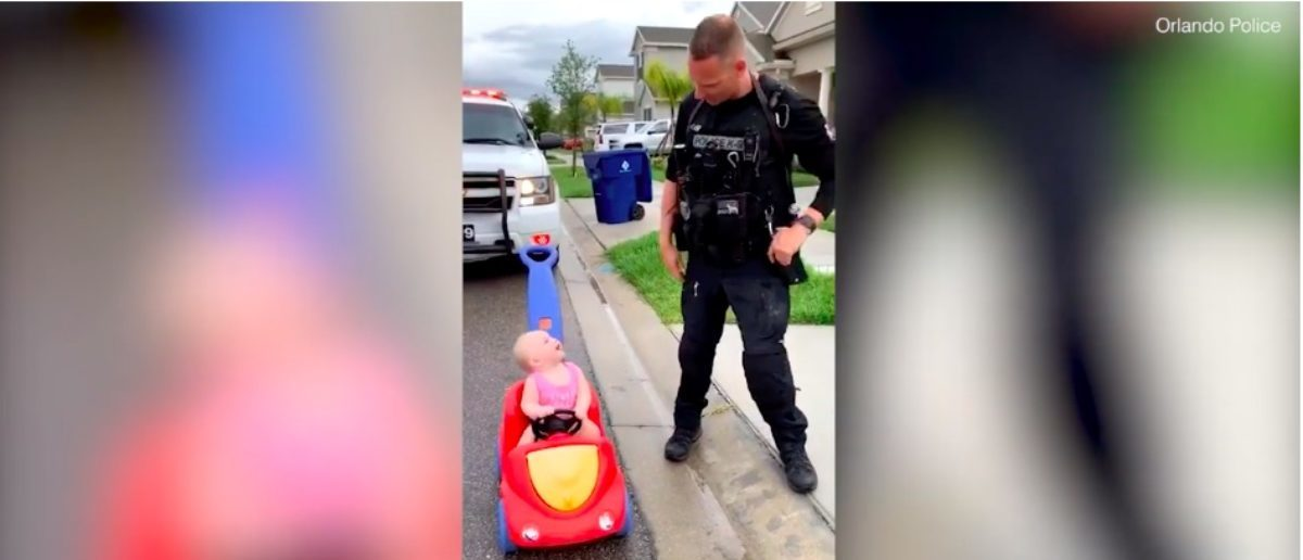 Orlando Police Officer Pulls Over Daughter For Speeding And It's Definitely A Can't Miss | The Daily Caller