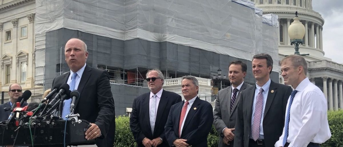 Rep Chip Roy and other members of Congress give press conference about crisis at border (Photo via. Henry Rodgers: TheDC)