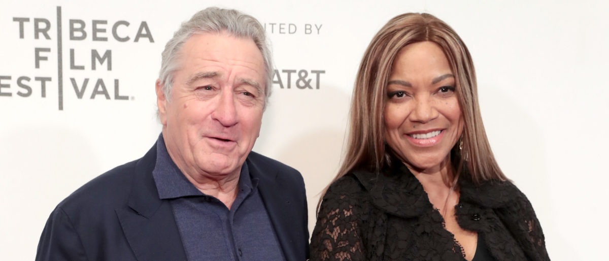 Robert De Niro and Grace Hightower attend Showtime's World Premiere of The Fourth Estate at Tribeca Film Festival Screening at BMCC Tribeca Performing Arts Center on April 28, 2018 in New York City. (Photo by Cindy Ord/Getty Images for Showtime)