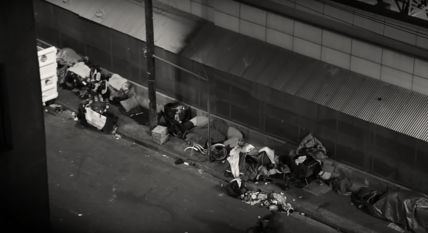 CEO Spends Night On Skid Row / Union Rescue Mission/ YouTube