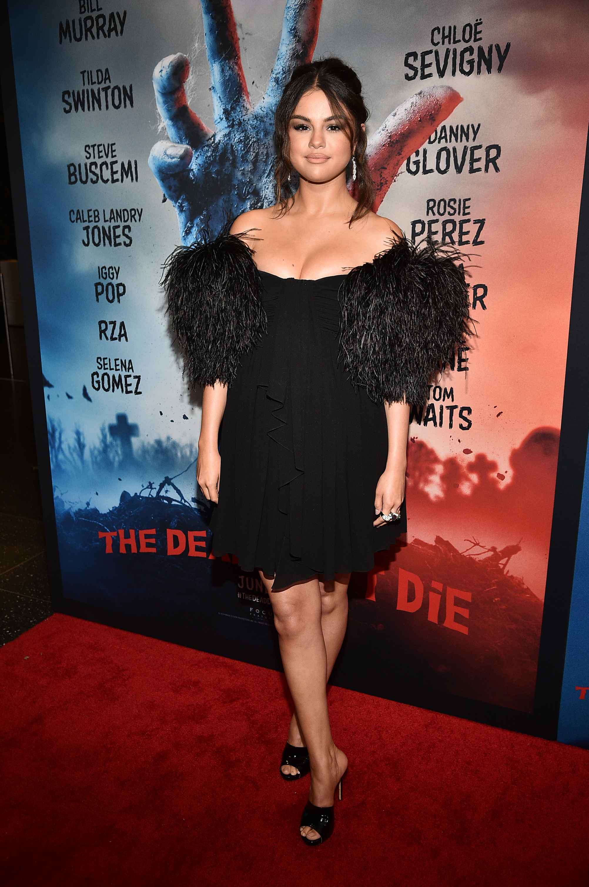 "Selena Gomez attends ""The Dead Don't Die"" New York Premiere at Museum of Modern Art on June 10, 2019 in New York City. (Photo by Theo Wargo/Getty Images)"