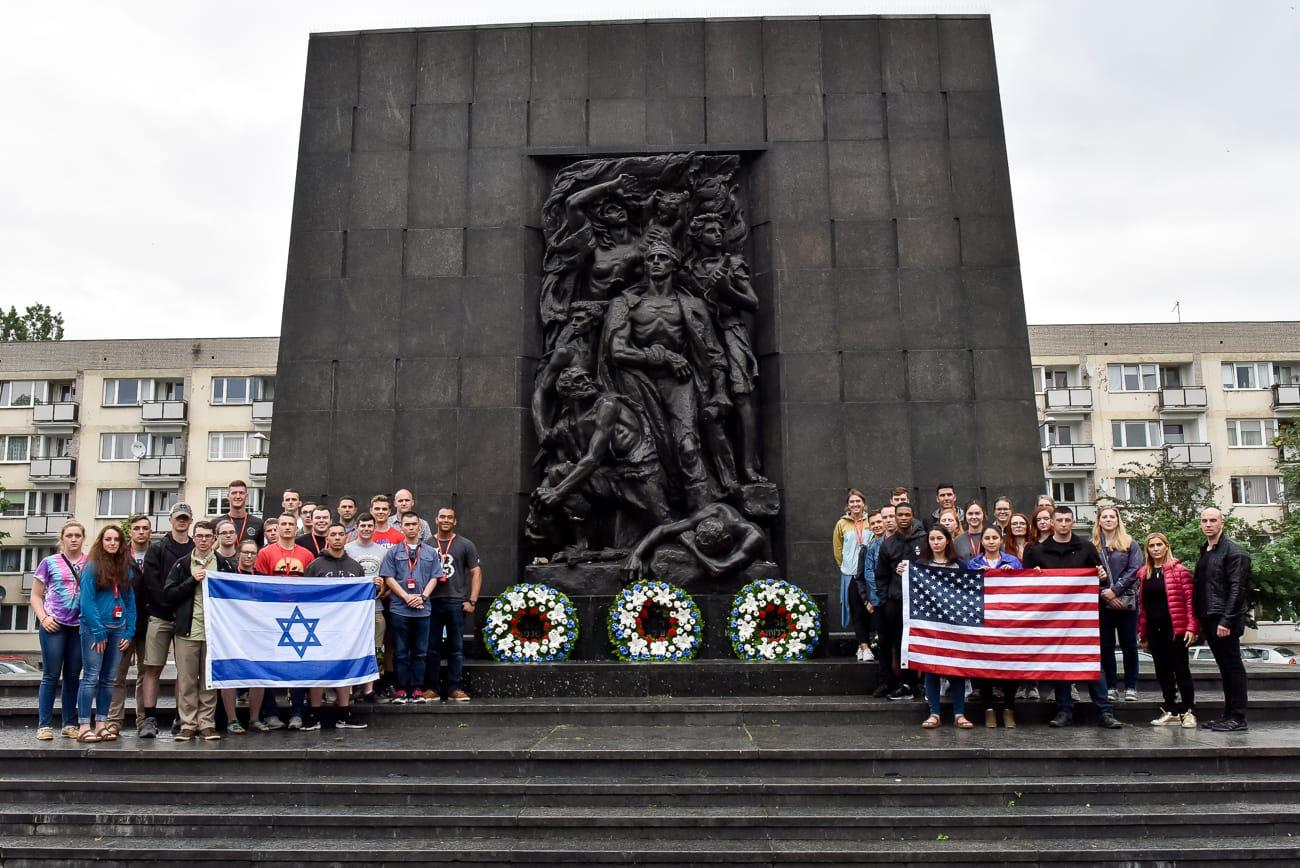 The Cadets in Warsaw, Poland/Photo Courtesy Of Our Soldiers Speak