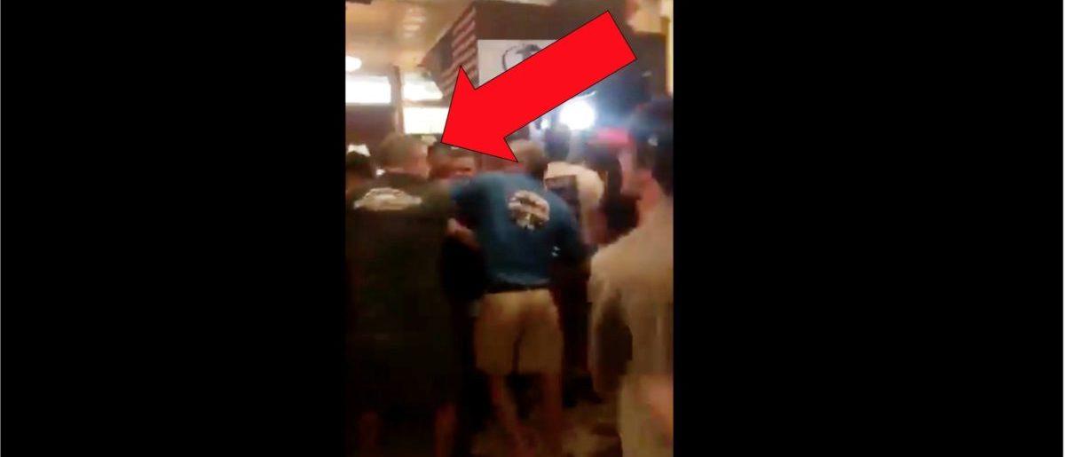 Bar Fight (Credit: Screenshot/Twitter Video https://twitter.com/cole_m3/status/1142793543892852737/video/1)