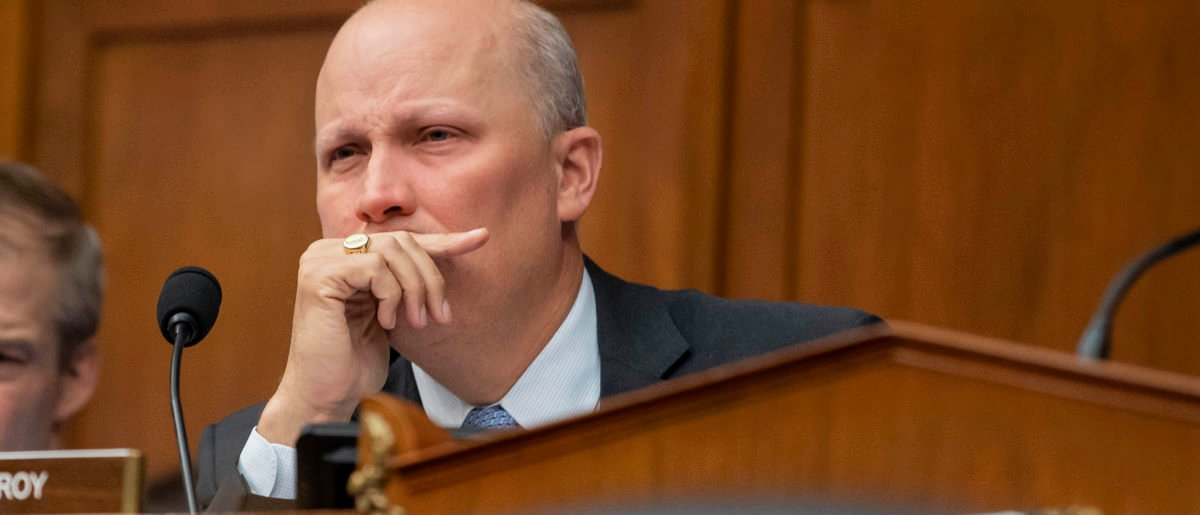 Rep. Chip Roy listens during a House Civil Rights and Civil Liberties Subcommittee hearing on confronting white supremacy at the U.S. Capitol (Anna Moneymaker/Getty Images)