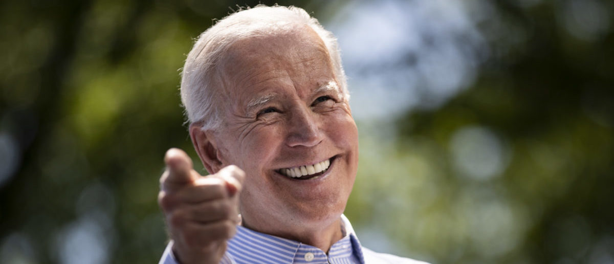 Former U.S. Vice President and Democratic presidential candidate Joe Biden (Drew Angerer/Getty Images)