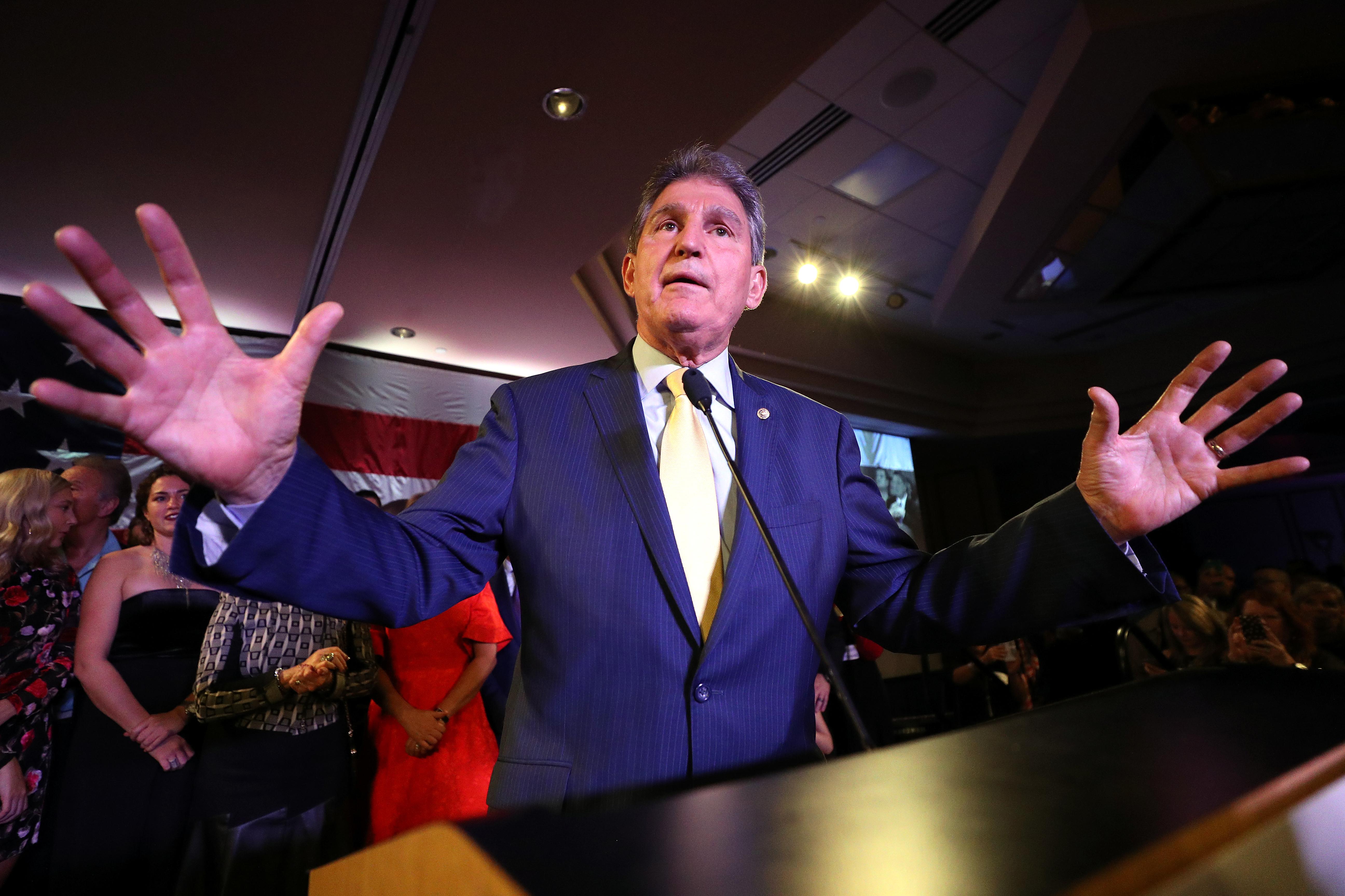 Joe Manchin Is Reportedly Eyeing A New Job Amid Senate