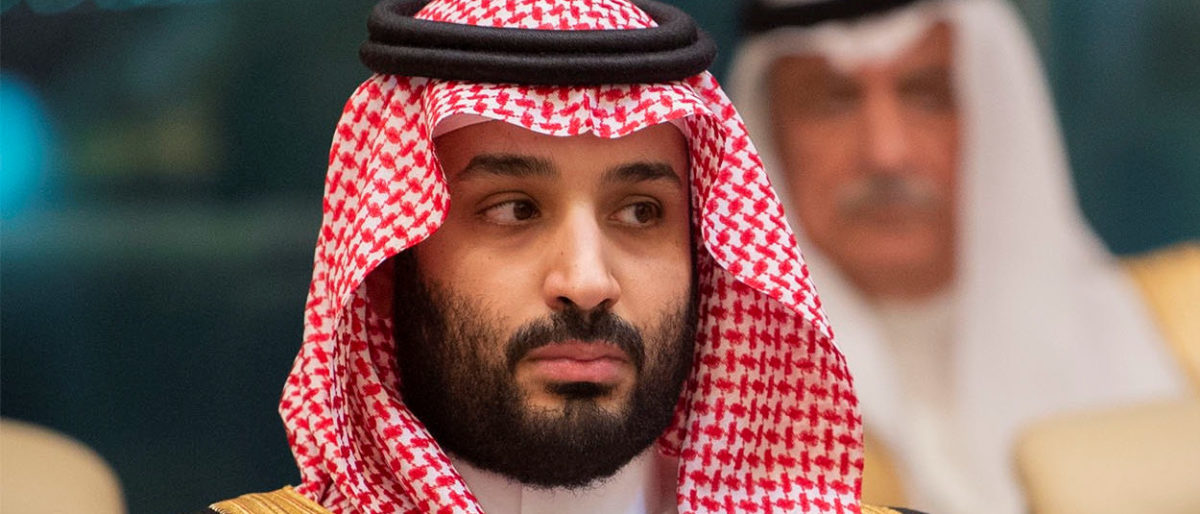Crown Prince of Saudi Arabia Mohammad bin Salman attends the Gulf Cooperation Council (GCC) summit in Mecca, Saudi Arabia May 30, 2019. Picture taken May 30, 2019. Bandar Algaloud/Courtesy of Saudi Royal Court/Handout via REUTERS