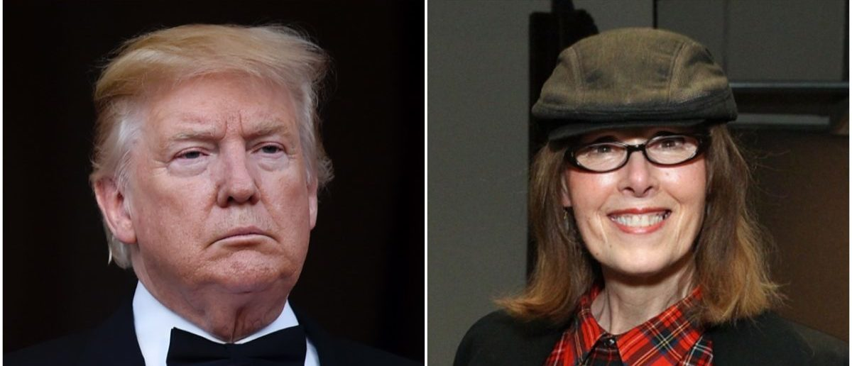 Left: Donald Trump (Getty Images), Right: E Jean Carroll (Getty Images)