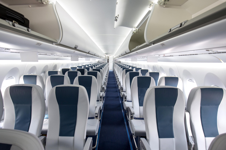 A plane devoid of passengers (Shutterstock)