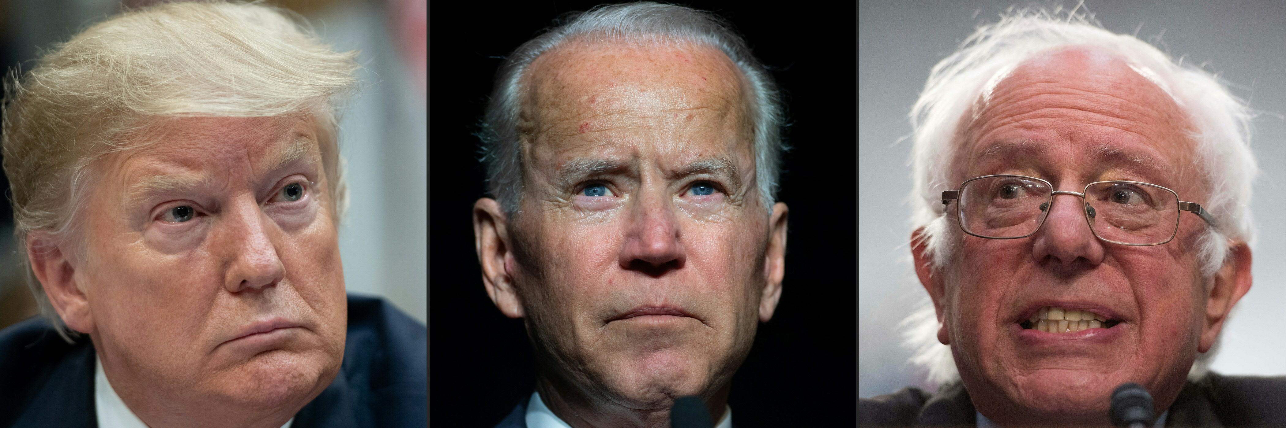 (Saul Loeb, Jim Watson/AFP/Getty Images)