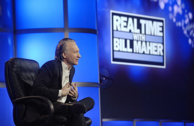 "Host Bill Maher answers questions during the panel for the HBO talk show ""Real Time with Bill Maher"" at the Television Critics Association 2007 winter press tour in Pasadena, California, January 12, 2007. REUTERS/Phil McCarten"