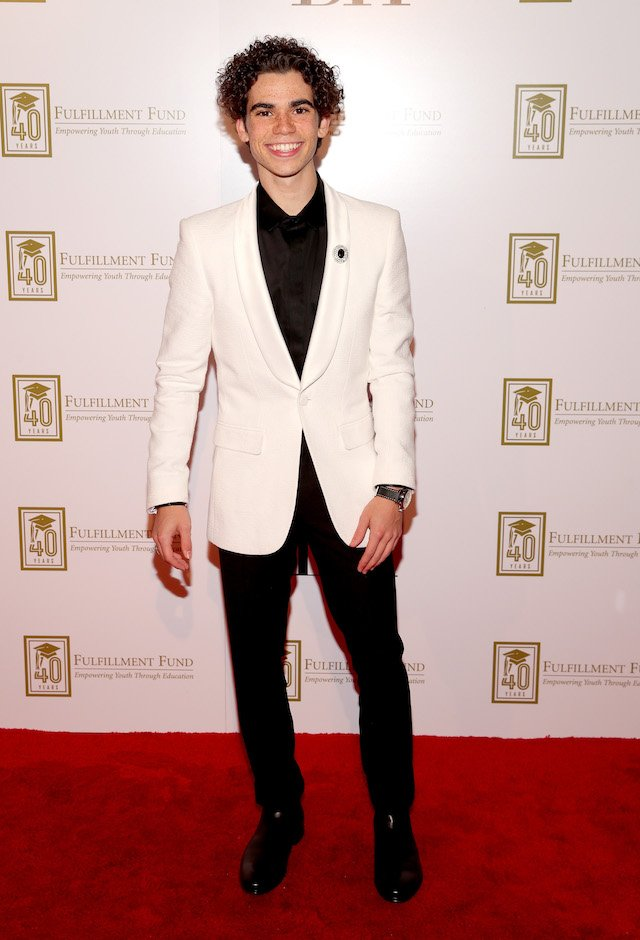 Cameron Boyce attends A Legacy Of Changing Lives presented by the Fulfillment Fund at The Ray Dolby Ballroom at Hollywood & Highland Center on March 13, 2018 in Hollywood, California. (Photo by Christopher Polk/Getty Images)