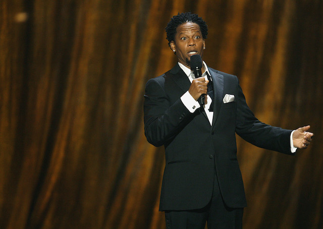 D.L. Hughley hosts the 39th Annual NAACP Image Awards at the Shrine auditorium in Los Angeles February 14, 2008. REUTERS/Mario Anzuoni