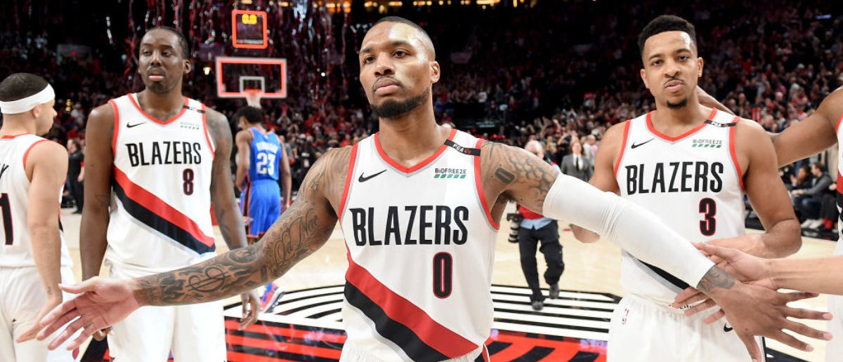 quality design cefa5 643cc Damian Lillard Agrees To  196 Million Extension With The Trail Blazers
