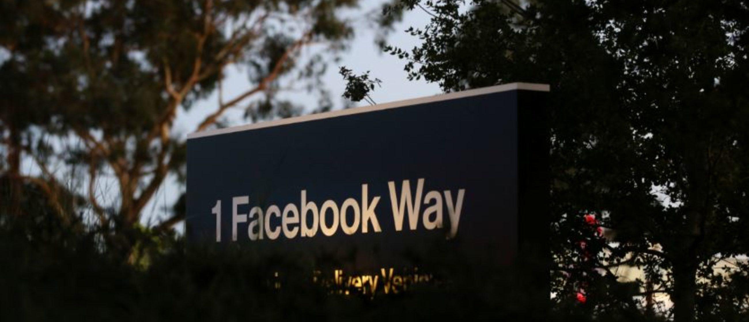 A Facebook address sign is seen at Facebook headquarters in Menlo Park, California, on Wednesday, October 10, 2018. REUTERS/Elijah Nouvelage