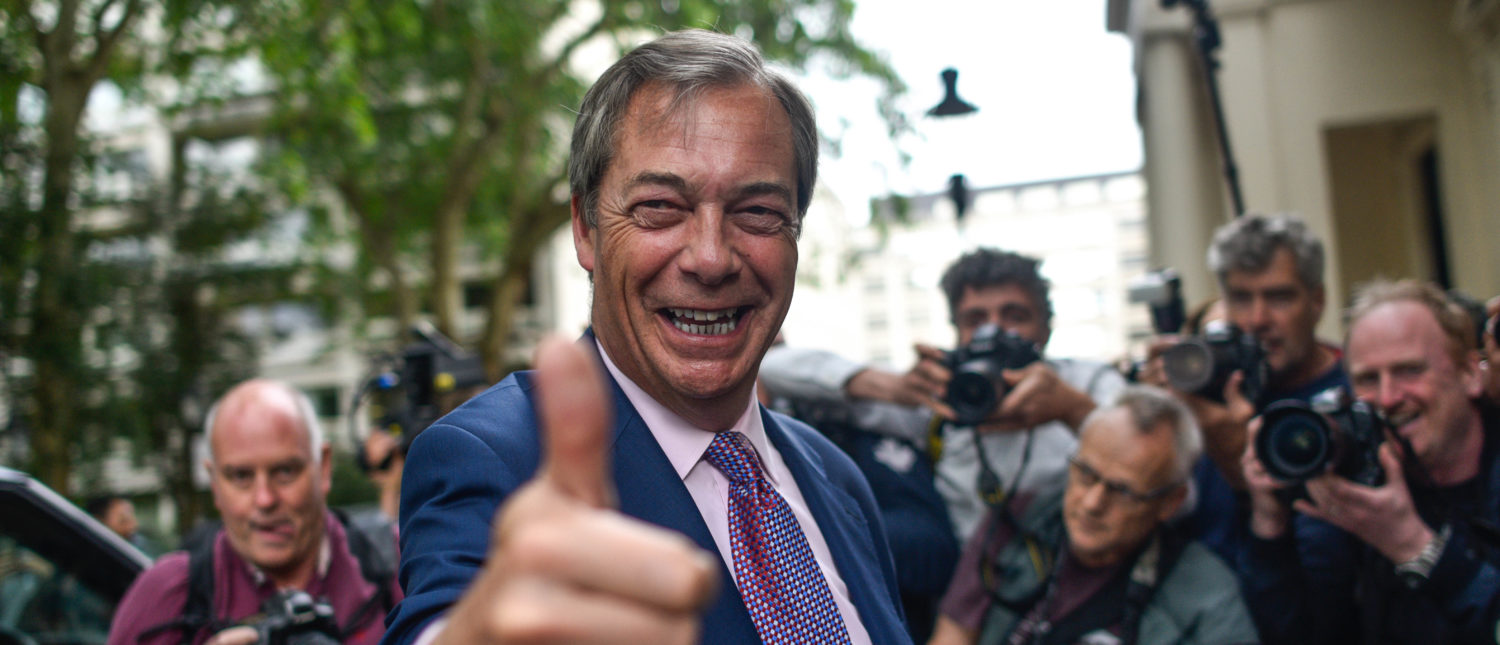 Brexit Party Holds A Post EU Election Results Event (Photo by Peter Summers/Getty Images)